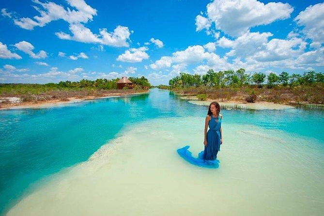 Tour Bacalar (7 color lagoon)