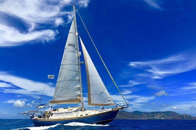 Private Full Day Sail/ Snorkel Experience USVI (Sapphire Marina, STT pick up)