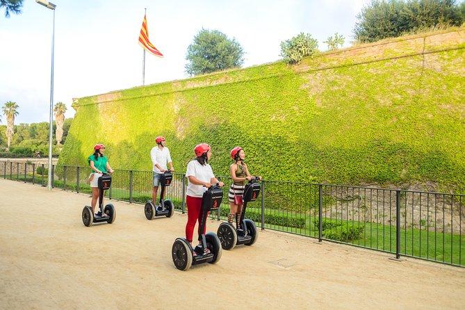 Montjuïc Castle Segway Tour