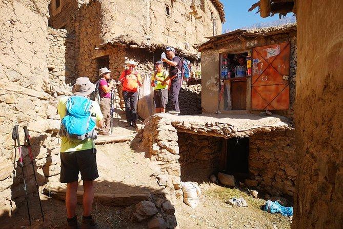 3 days trek in Atlas mountains