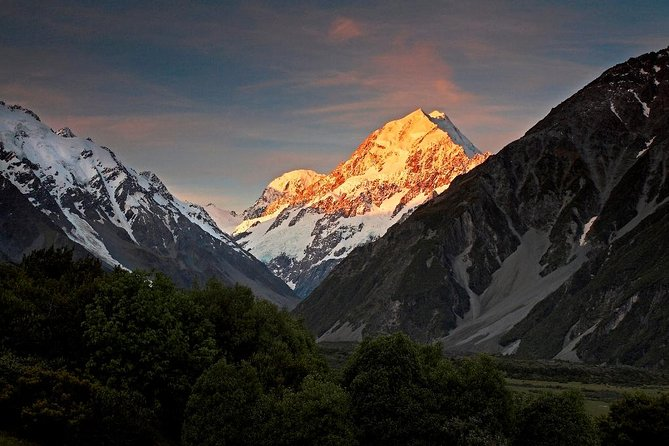 Christchurch - Mt Cook - Queenstown ( or in reverse )