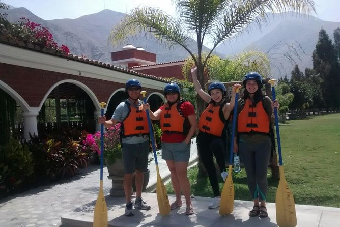 Lunahuana: Rafting, ATV Quad Bike & Winery Private Tour from Lima