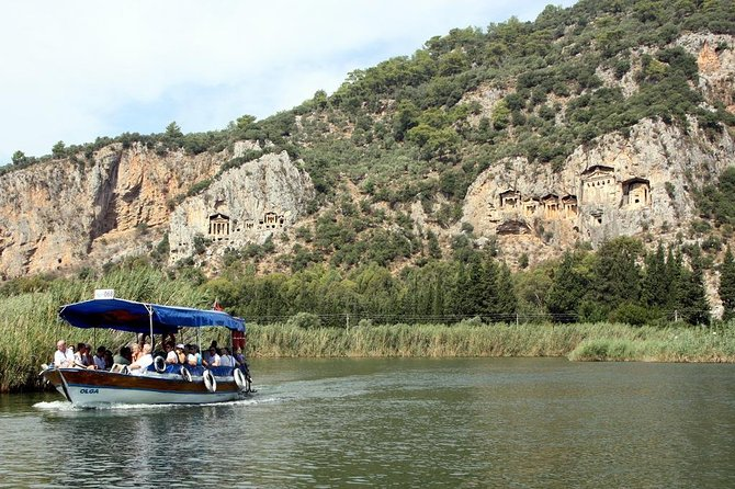 River Cruise, Turtle Beach & Mud Baths från Marmaris