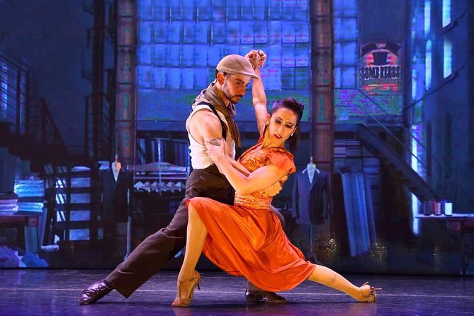 Skip the Line: Official Ticket Madero Tango Dinner Show with Transfer- All Inclusive