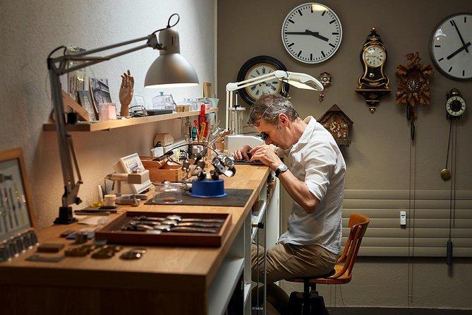 Bezoek aan het Zwitserse uurwerkatelier