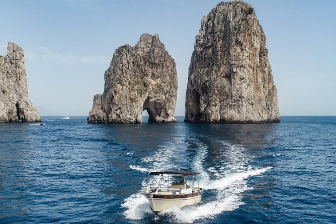Capri and Positano private boat tour (7/8 hours) from Sorrento
