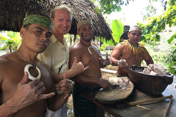 Luau del Re - Excursion in Italian - Cultural Center of Polynesia
