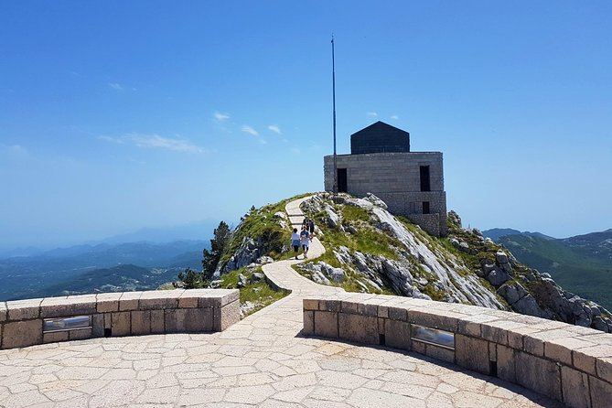 Cycling downhill from Njegos Mausoleum to Kotor