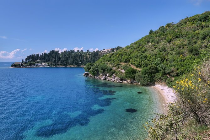 Trek & Swim on Corfu island