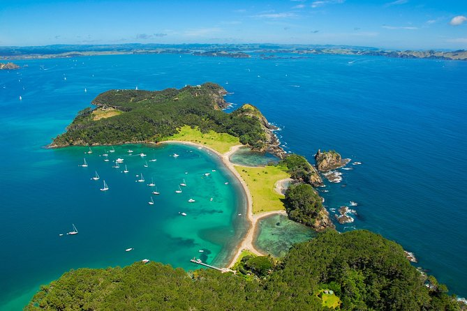 Group tour to Bay of Islands return from Auckland