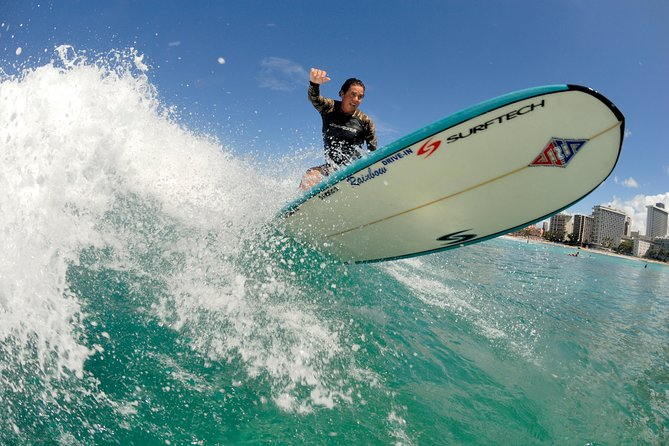 North Shore Beginner Surf Lesson