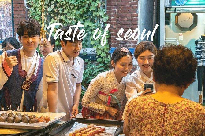 Ancient Seoul Cykel mad tur: Taste of Seoul!