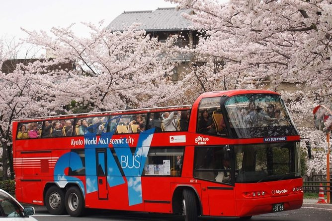 Kyoto SKYBUS Hop-On Hop-Off Sightseeing Bus