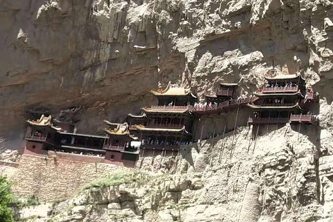 All Inclusive Private Day Tour to Hanging Temple at Hengshan from Datong
