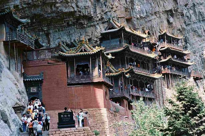 All Inclusive Private Day Tour to Hanging Temple from Taiyuan