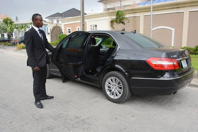 Lagos by Yourself with English Chauffeur by Business Car or Luxury SUV