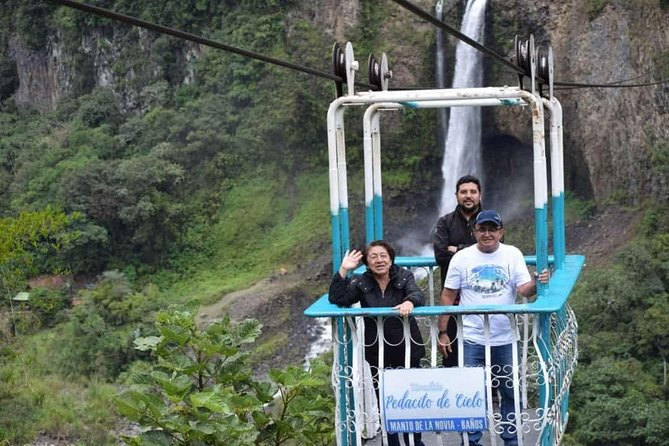 Waterfall Route, Pailon Del Diablo, Tree House, Night Tours in 1 Day