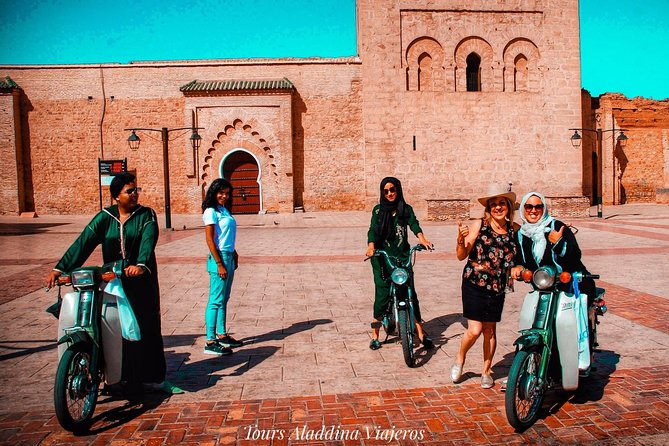 Sunset by motorcycle with the Karimas of Marrakech