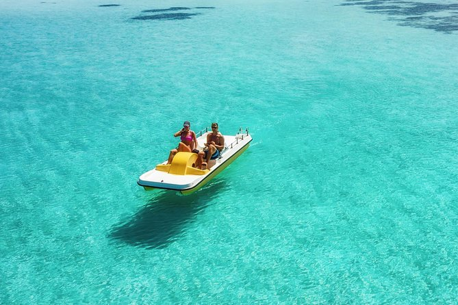 The Famous Pedal Boat Tours & Snorkeling, Free for Small Kids