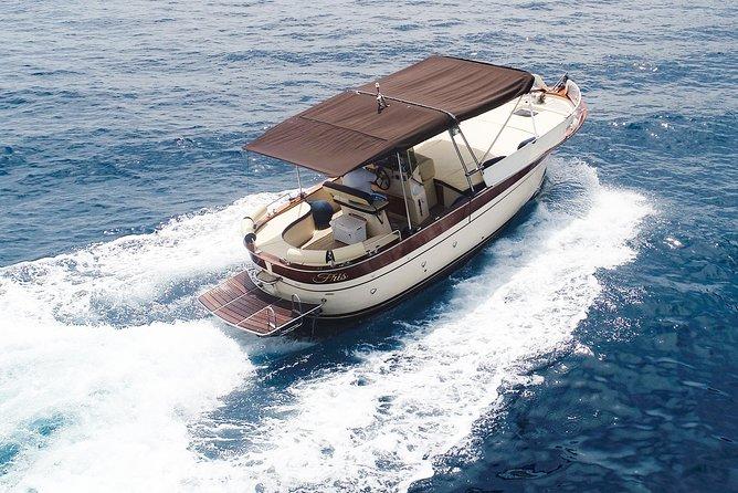 Capri private boat tour from Positano