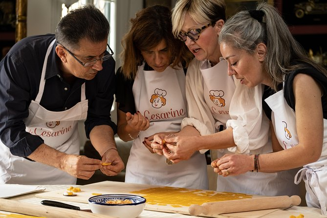 Private cooking class at a Cesarina's home with tasting in Padua