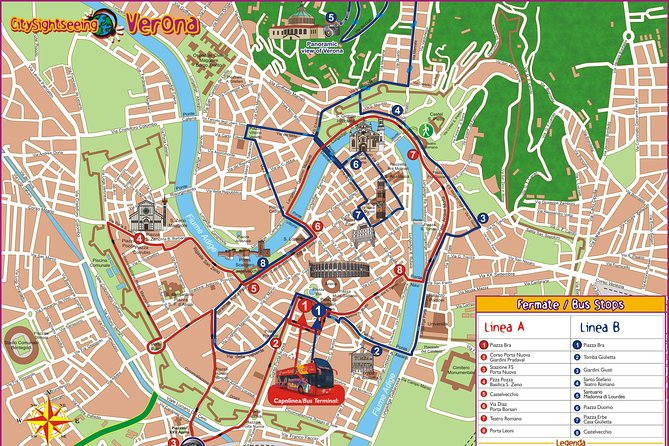 Hop-on-Hop-off-Tour durch Verona