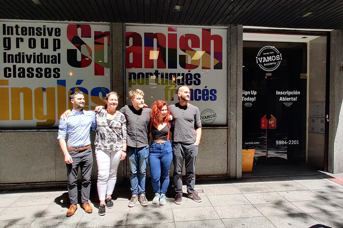 Spanish Intensive Group Classes 20 Hours p/Week | Vamos Academy Buenos Aires