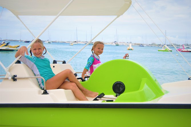 Create your own Pedal Boat TRIP & Free for kids ! with drinks, snorkeling, music photo 6