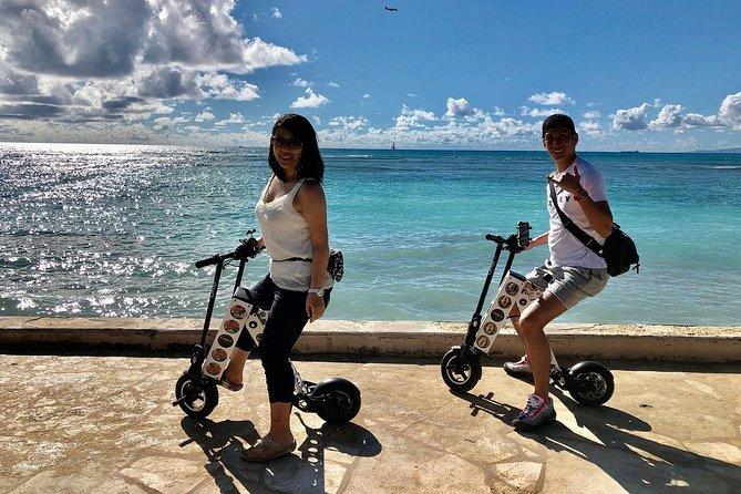 URB-E Hawaii - Diamond Head Ride & Hike