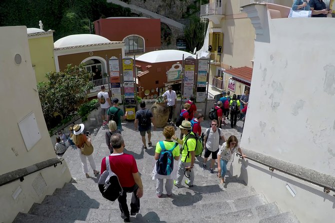 ALL INCLUSIVE - Private Pompeii And Amalfi Coast From Naples Train Station