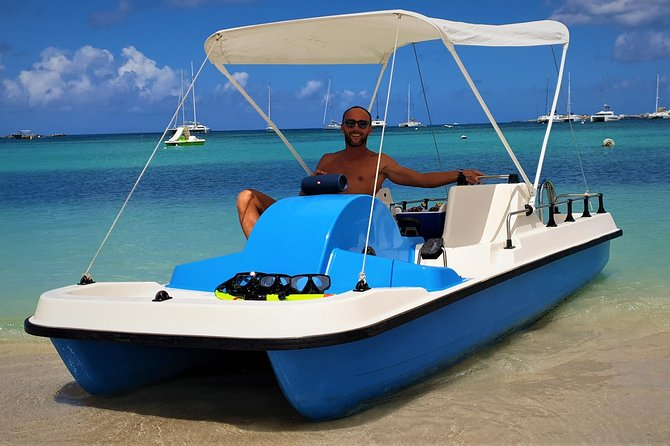 Create your own Pedal Boat TRIP & Free for kids ! with drinks, snorkeling, music photo 2