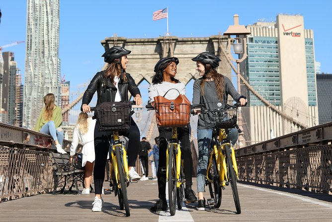 Manhattan and Brooklyn Bridge Bike Rental