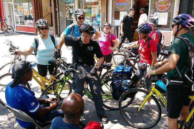 ブロンクスリトルイタリー訪問付き小グループブロンクスバイクツアー