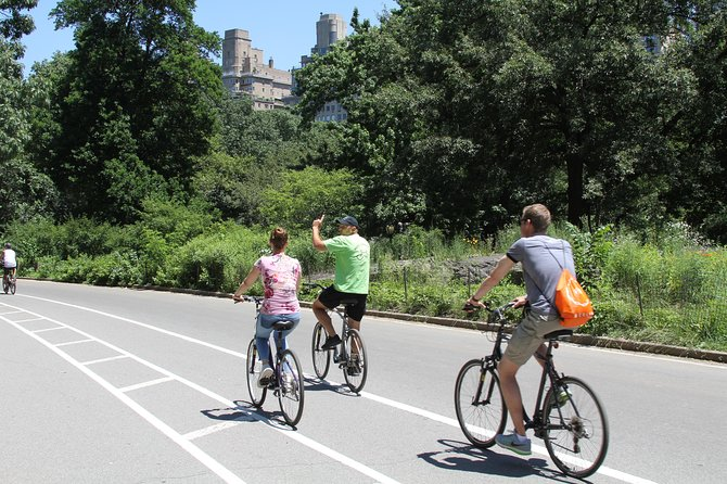 Guided Bike Tour Of Central Park