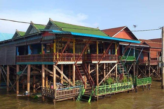 Cruise to Kompong Phluk floating village
