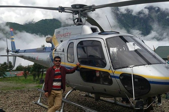 Everest Base Camp landing Private Helicopter Tour