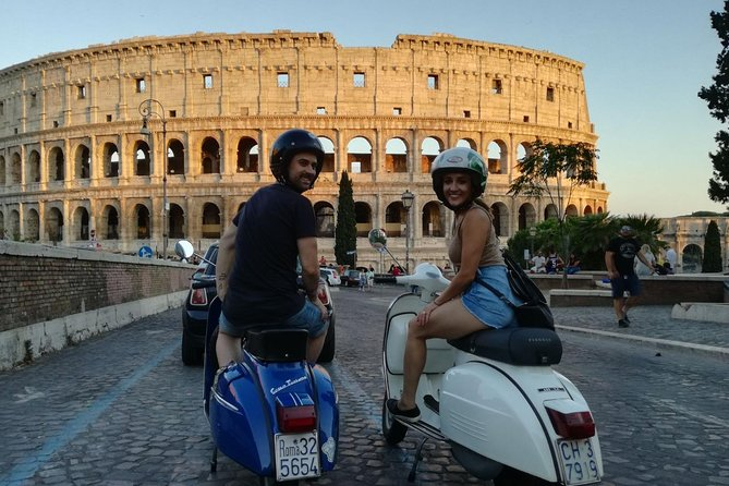 Secret Rome Vespa Tour