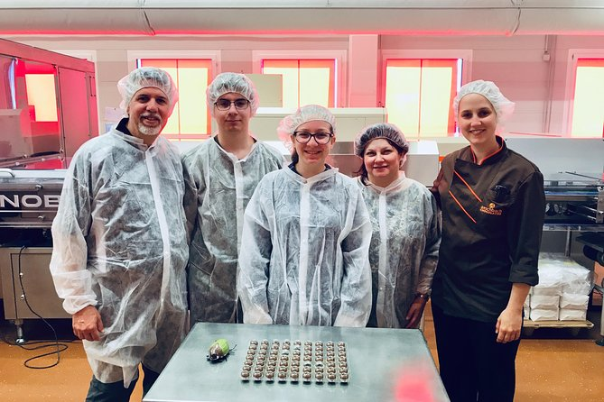 Lucerne's Chocolate Factory Total Experience: Tasting, Making, Production