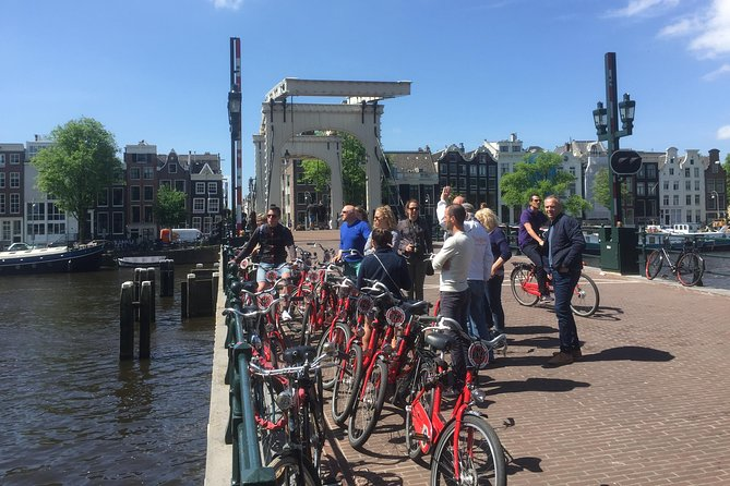 The I-AMSTERDAM bike tour (with born and raised) Amsterdam private tour guide