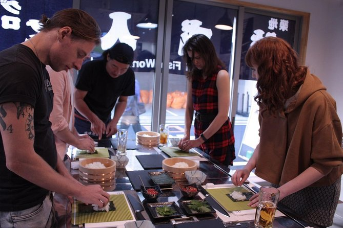 Why don't you make Sushi? Sushi Making Experience