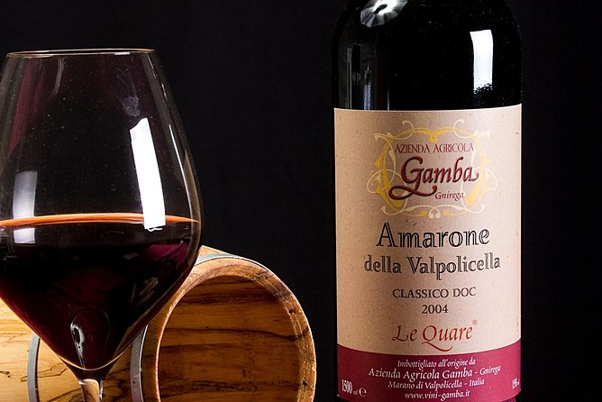 Amarone Wine Tasting from Venice by Train