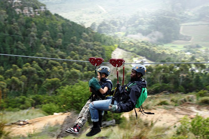 Zip-lining in Cape Town - Based at the Foot of the Table Mountain Reserve