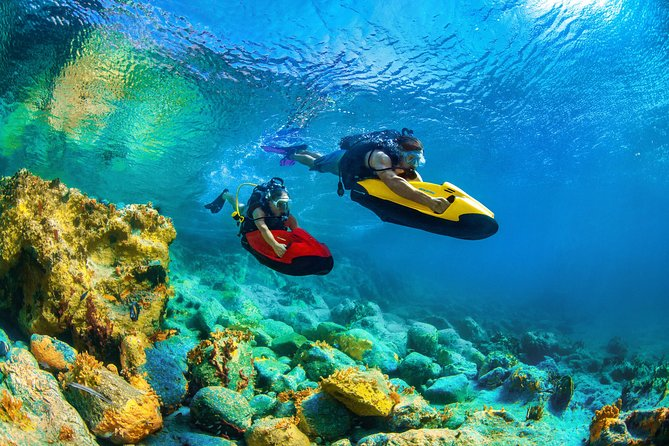 Boat trip + SEABOB (15 or 30 mn of your choice)