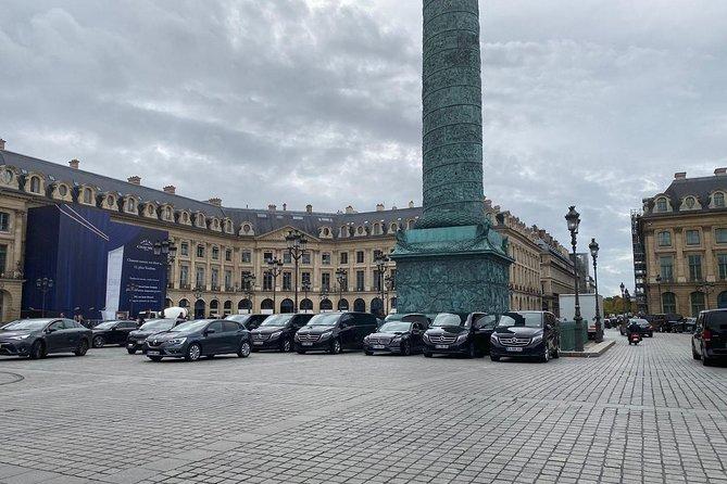 Ganztägige private Tour durch Paris - Limousinenfahrzeug