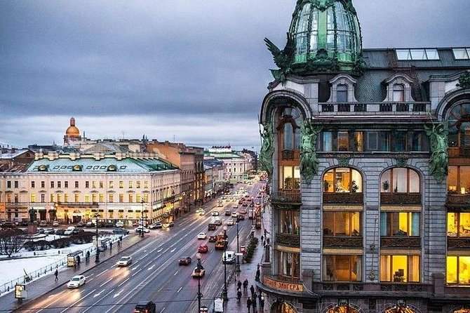 Private Walking City tour in St Petersburg