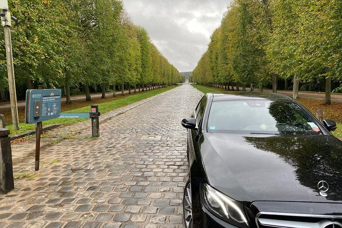 Garden of Versailles with team City Cab Paris