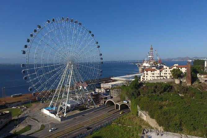 Ferris Wheel Panoramic View & Olympic Boulevard with Transfer