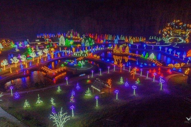 Christmas lights at Salaj land with local wine & food tasting