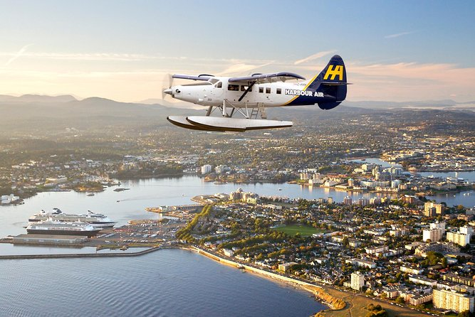 Butchart Gardens Luxury Evening Experience: Seaplane Flight and 3-Course Dinner