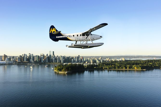 Extended Vancouver Seaplane Tour